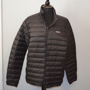 NWT PATAGONIA BLACK SWEATER DOWN PUFFER JACKET